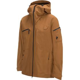 """Peak Performance M's Alpine Jacket Honey Brown"""